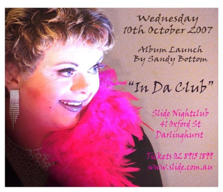 In Da Club Invitation